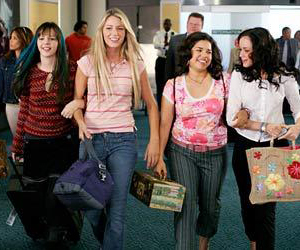 Still shot from the movie: The Sisterhood of the Traveling Pants.