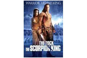 Still shot from the movie: The Scorpion King.