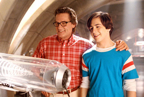Still shot from the movie: Sky High.