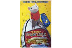 Still shot from the movie: Stuart Little.