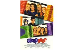 Still shot from the movie: Sleepover.