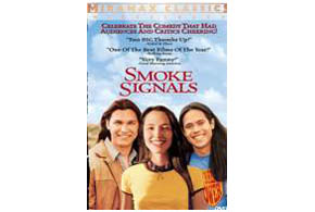 Still shot from the movie: Smoke Signals.