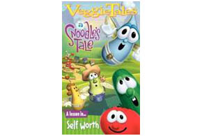 Still shot from the movie: Veggie Tales: A Snoodle's Tale.