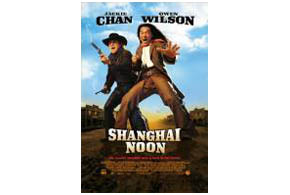 Still shot from the movie: Shanghai Noon.