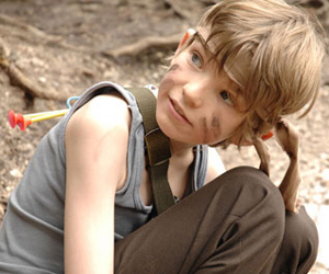 Still shot from the movie: Son of Rambow.