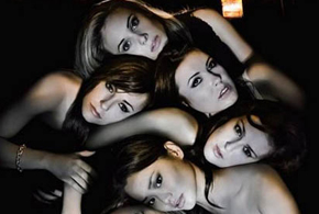 Still shot from the movie: Sorority Row.
