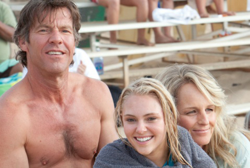 Still shot from the movie: Soul Surfer.