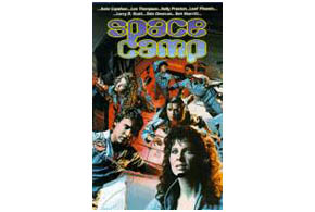 Still shot from the movie: Space Camp.