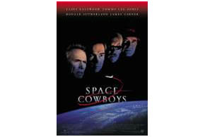 Still shot from the movie: Space Cowboys.