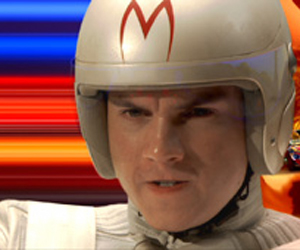 Still shot from the movie: Speed Racer.