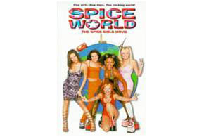 Still shot from the movie: Spice World.