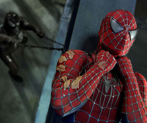 Still shot from the movie: Spider-Man 3.