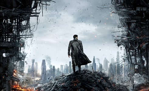 Still shot from the movie: Star Trek Into Darkness.