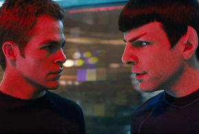 Still shot from the movie: Star Trek.