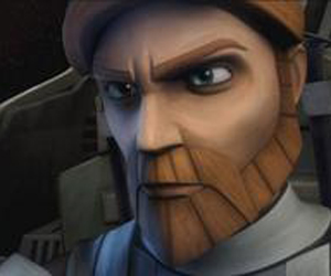 Still shot from the movie: Star Wars- The Clone Wars.