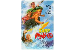Still shot from the movie: Surf Ninjas.