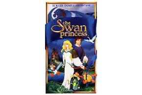 Still shot from the movie: The Swan Princess.