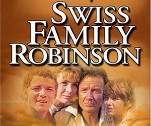 Still shot from the movie: Swiss Family Robinson.