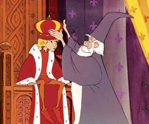 Still shot from the movie: The Sword In The Stone.