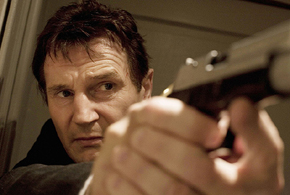Still shot from the movie: Taken.