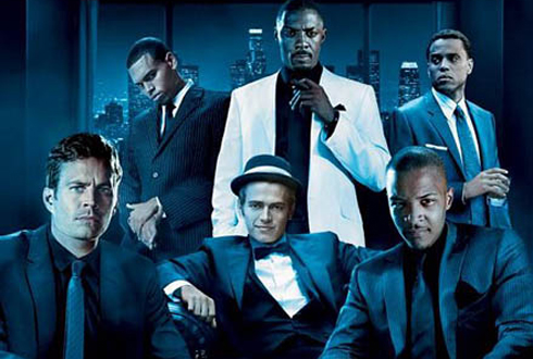 Still shot from the movie: Takers.
