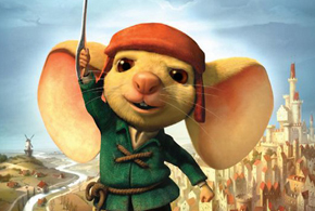 Still shot from the movie: The Tale of Despereaux.