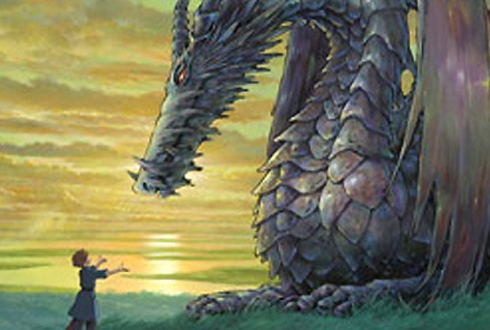 Still shot from the movie: Tales From Earthsea.