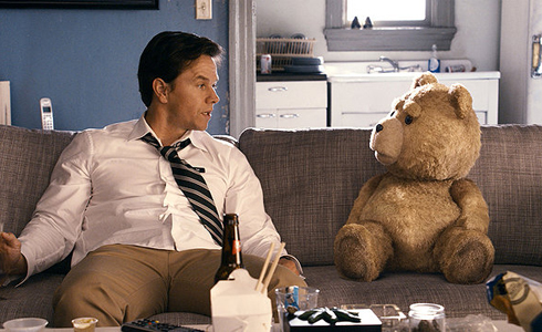 Still shot from the movie: Ted.