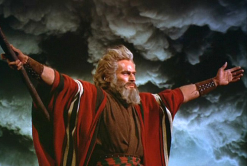 Still shot from the movie: The Ten Commandments.
