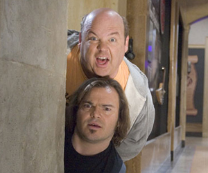 Still shot from the movie: Tenacious D in The Pick of Destiny.