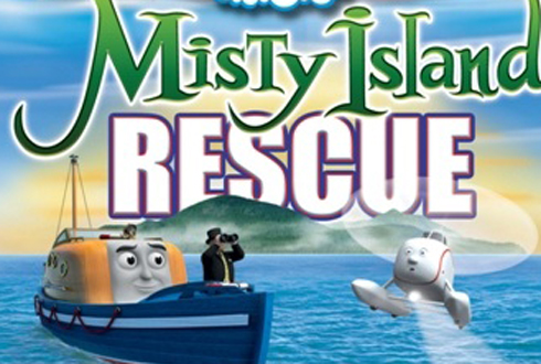 Still shot from the movie: Thomas and Friends: Misty Island Rescue.