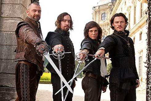 Still shot from the movie: The Three Musketeers (2011).