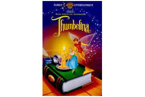 Still shot from the movie: Thumbelina.