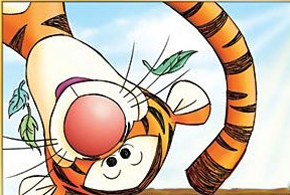 Still shot from the movie: The Tigger Movie.