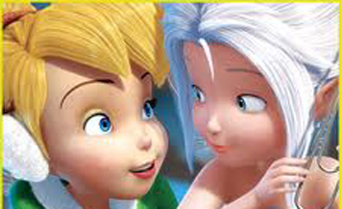 Still shot from the movie: Tinker Bell: Secret of the Wings.