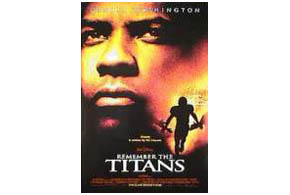 Still shot from the movie: Remember The Titans.