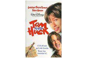 Still shot from the movie: Tom And Huck.