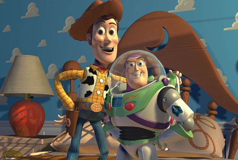 Still shot from the movie: Toy Story 2.