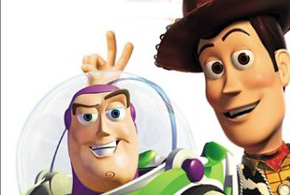 Still shot from the movie: Toy Story 1 and 2.