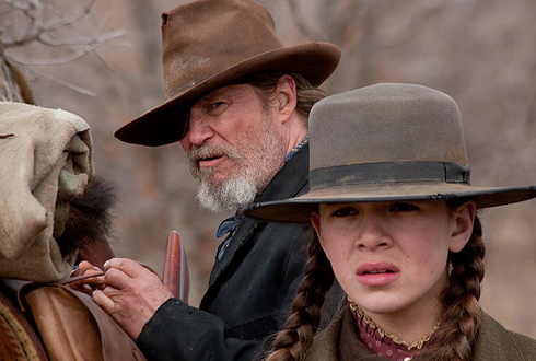Still shot from the movie: True Grit.