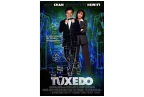 Still shot from the movie: The Tuxedo.