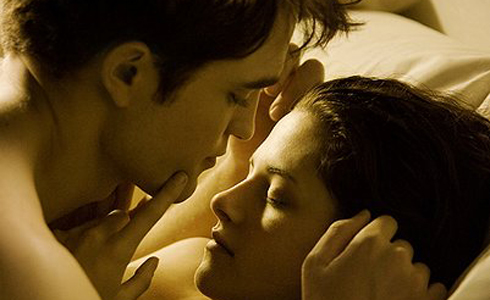 Still shot from the movie: Twilight Saga: Breaking Dawn - Part 1.