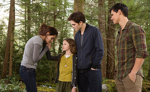 Still shot from the movie: The Twilight Saga: Breaking Dawn Part 2.