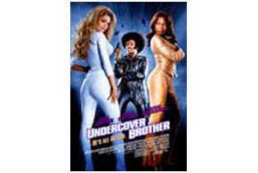 Still shot from the movie: Undercover Brother.