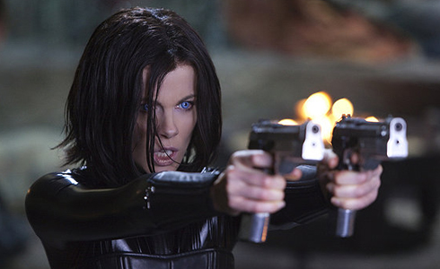 Still shot from the movie: Underworld: Awakening.