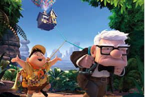 Still shot from the movie: Up.