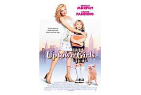 Still shot from the movie: Uptown Girls.