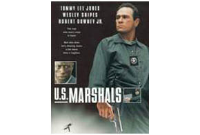 Still shot from the movie: U.S. Marshals.
