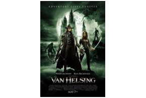 Still shot from the movie: Van Helsing.