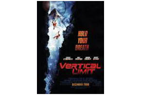Still shot from the movie: Vertical Limit.